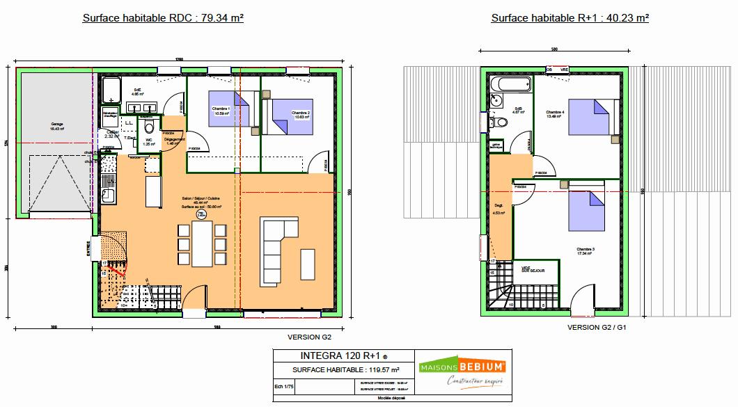 Maison Moderne 120 M2 Mezzanine Prix Cle