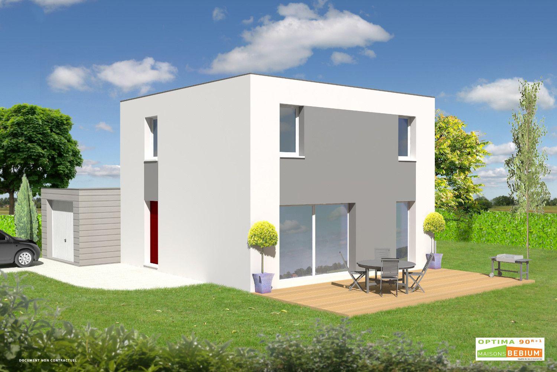 Maison A Etage De 90 M2 R 1 Prix Cle En Main Maisons Bebium